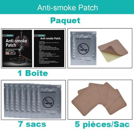 Patch arret tabac
