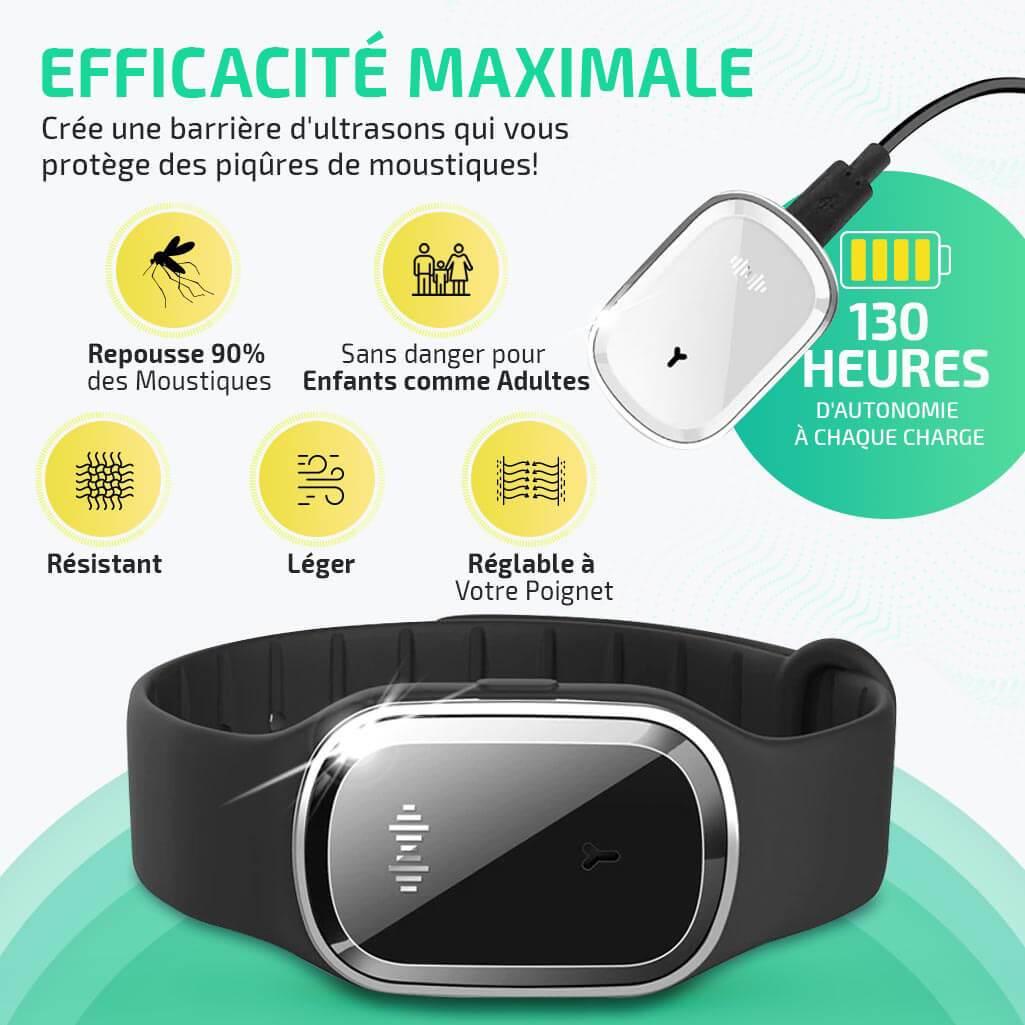 HDYZ Bracelets Anti Moustique Ext/érieure Int/érieure 100/% Naturel Bracelets Anti Moustiqu 15 Pcs Premium Bracelets Anti-moustiques /& 30 Pcs Autocollants R/épulsifs