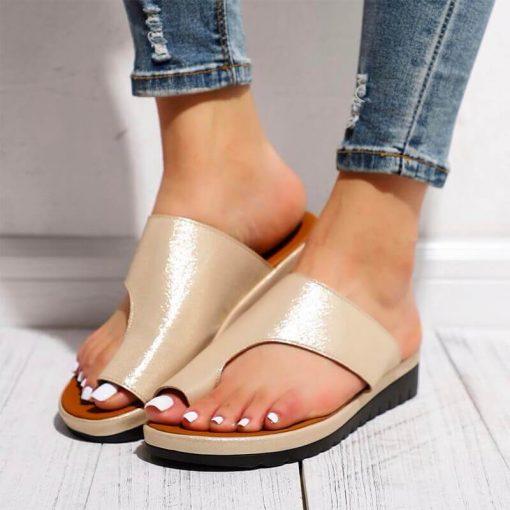 Sandale orthopédique femme