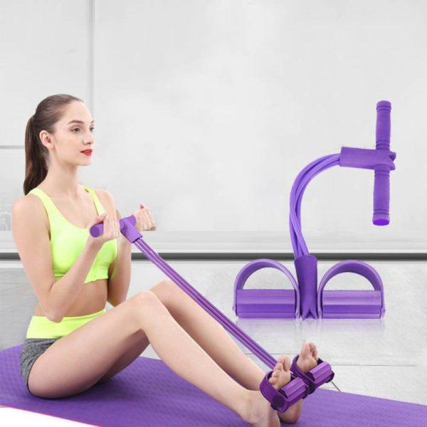 Elastique fitness violet