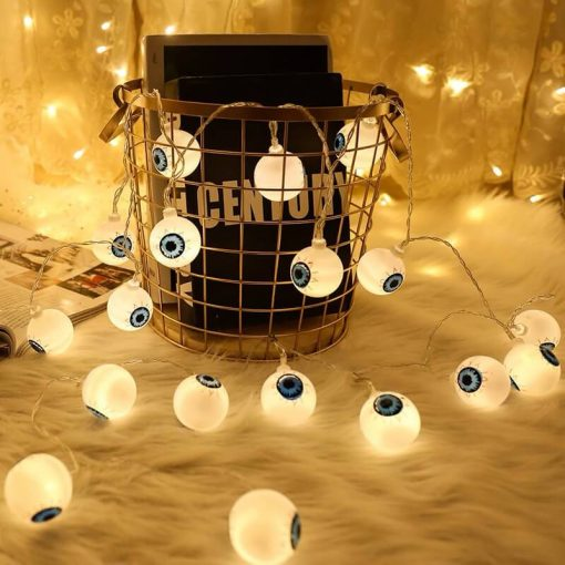 Deco halloween lampes yeux