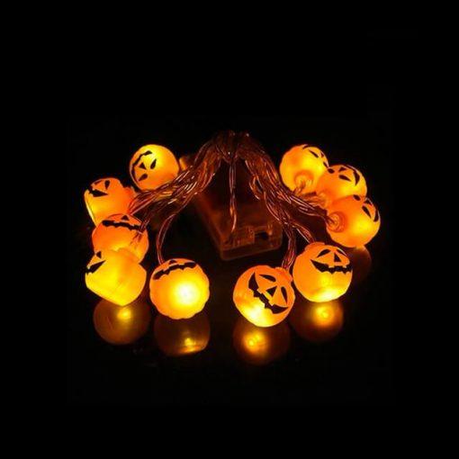 Deco halloween citrouilles rondes