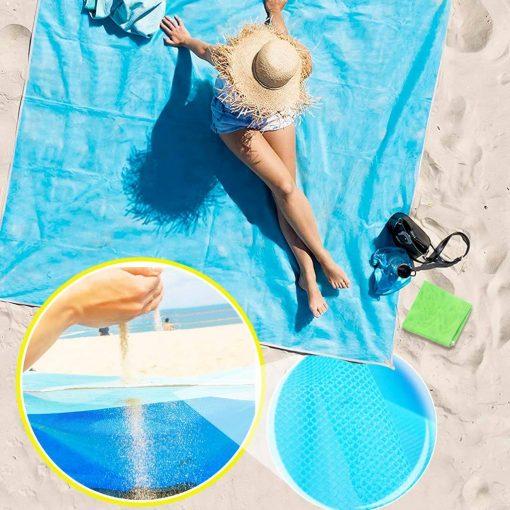 Serviette de plage anti sable