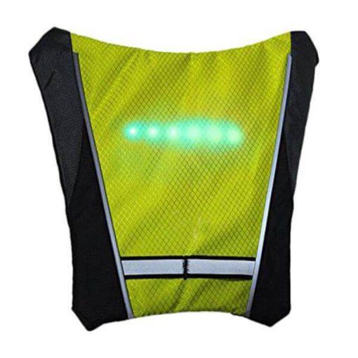 GiletMalin: Gilet de sécurité sécuritaire électronique pour vélo.