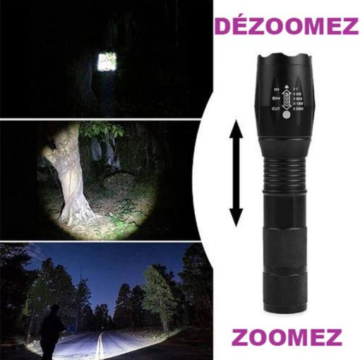 Lampes torches zoomable