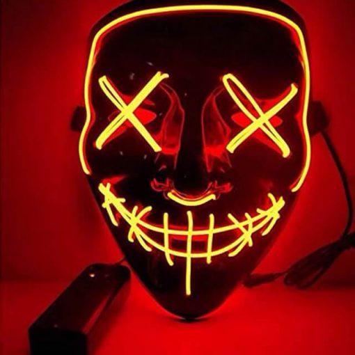 Masque halloween a imprimer
