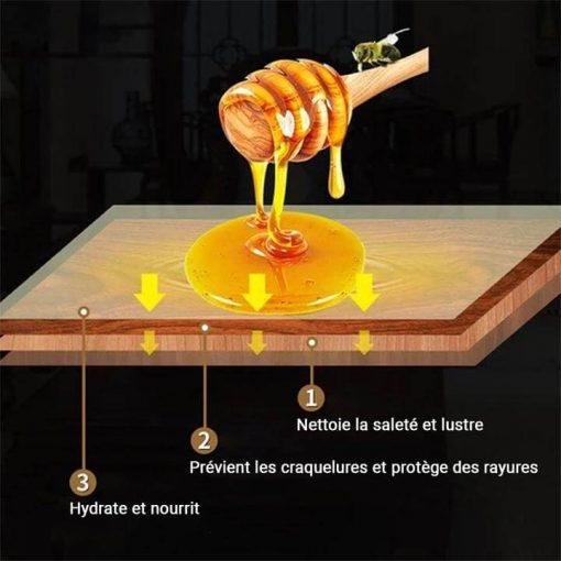 Nettoyer un meuble en bois ciré encrassé