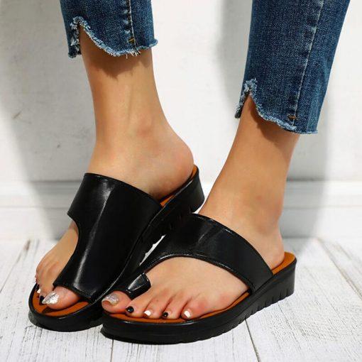 Sandales pour hallux valgus