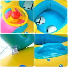 Bateau gonflable bébé
