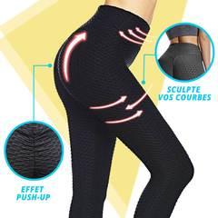 Legging compression anti cellulite