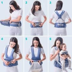 Porte bébé aubert